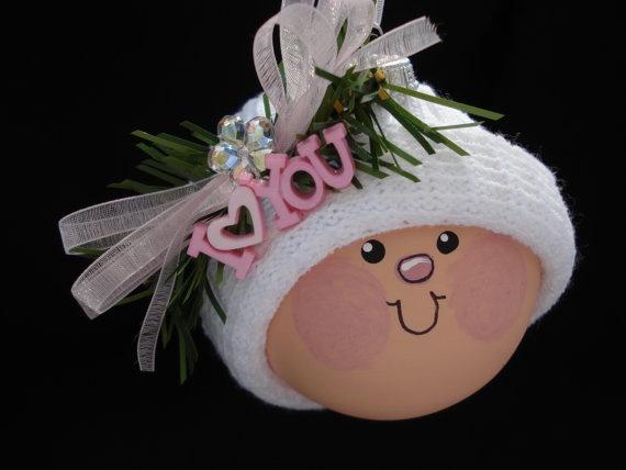 Ornament #Baby #Girl #Christmas #Ornament $12.95