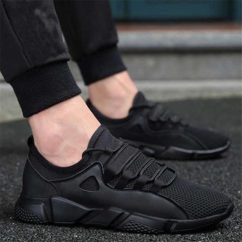 black rubber shoes for men