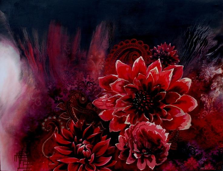 Blooming Blooms by Tasha Mrazek