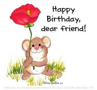 A Very Happy Birthday To A Very Dear Friend .May life bring you many more happy days !!!!!