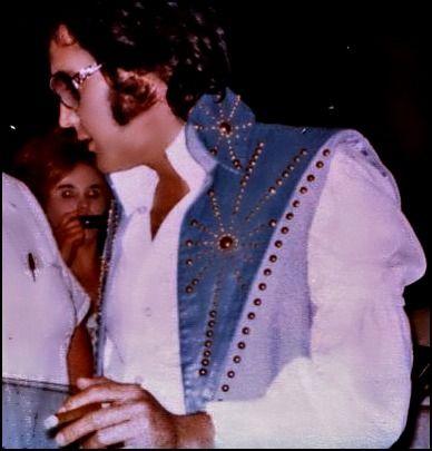 Elvis Presley - candid