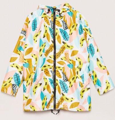 Atelier Bingo x Gorman banana print raincoat