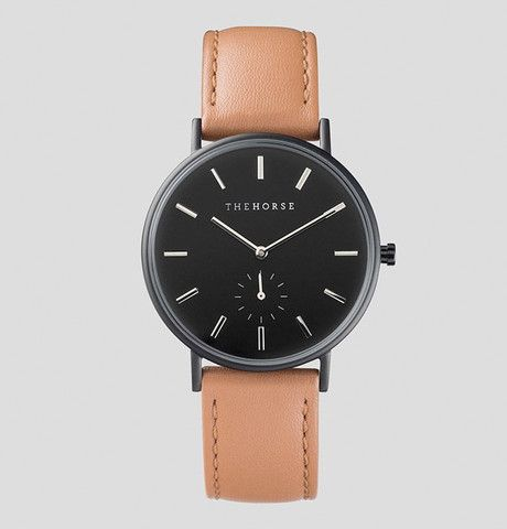 The Classic - Black / Tan Leather