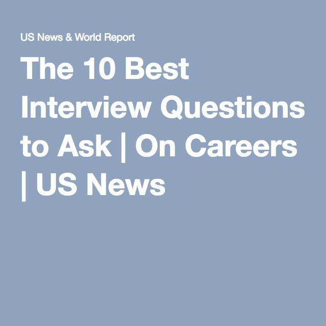 25+ best ideas about Best interview questions on Pinterest