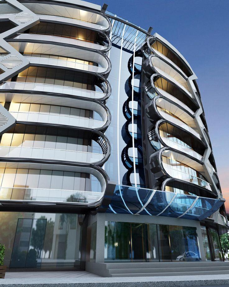 Ronfe Ofis 3d Building Designbuilding