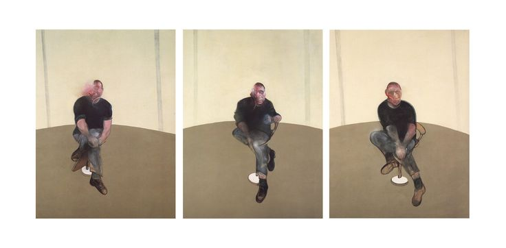 Francis Bacon. Study for a Self Portrait, 1985-86.