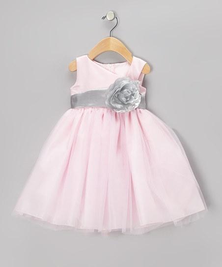 26 best flower girl images on pinterest children celebration and flower girl dress pink silver flower dress toddler girls mightylinksfo