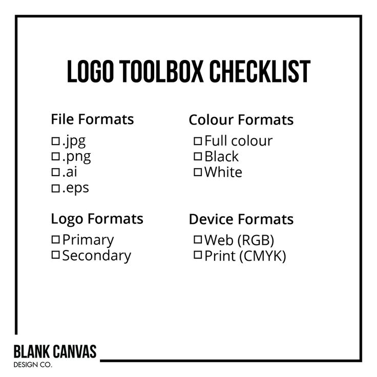 "The Logo Toolbox. Did you know that you need more than one logo? We put together a complete ""Logo Toolbox"" for our clients to make sure they are equipped with every format they will need to use in the future. Read our latest blog post to learn what formats you need and why, and use our handy checklist to make sure your own toolbox is complete!"