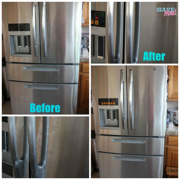 How to keep stainless steel appliances clean and fingerprint free!