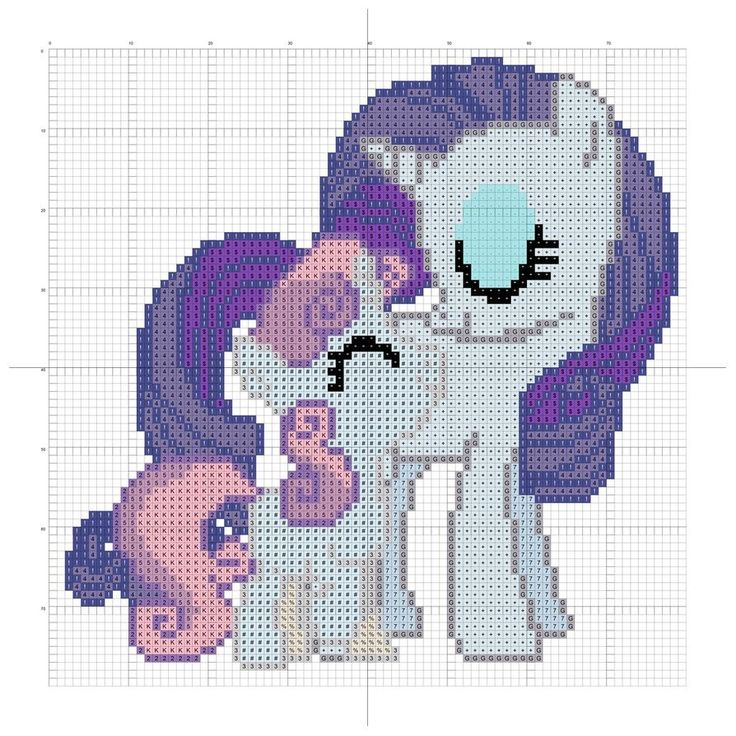 sandylandya@outlook.es Sweetie Belle and Rarity pattern by ~Stinnen on deviantART