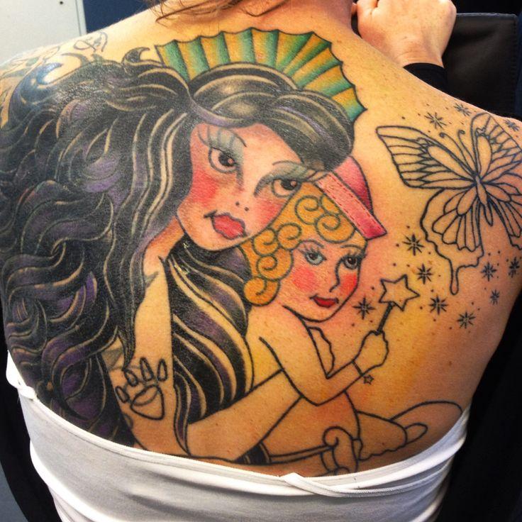 Jinxy mermaid and my mermaid colour started...