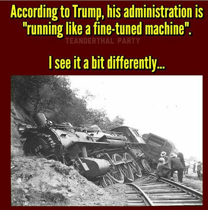 That Train has been totally off the tracks since Day1!!