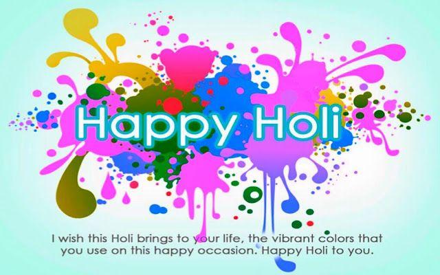 Holi wishes 2019