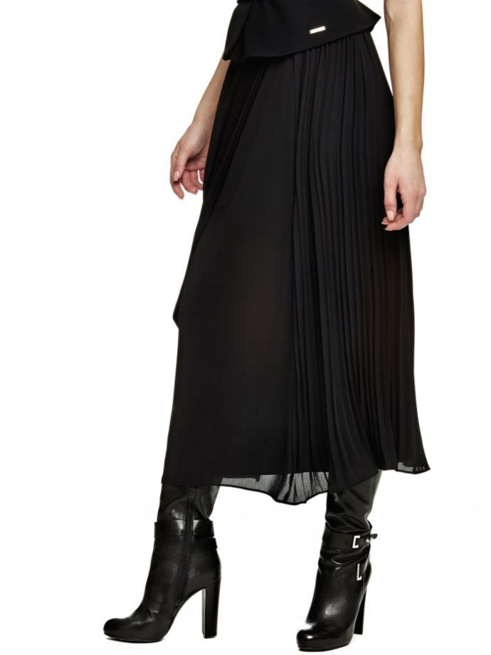 EUR169.00$  Watch now - http://vijxv.justgood.pw/vig/item.php?t=j57yp6o24699 - MARCIANO PLEATED SKIRT
