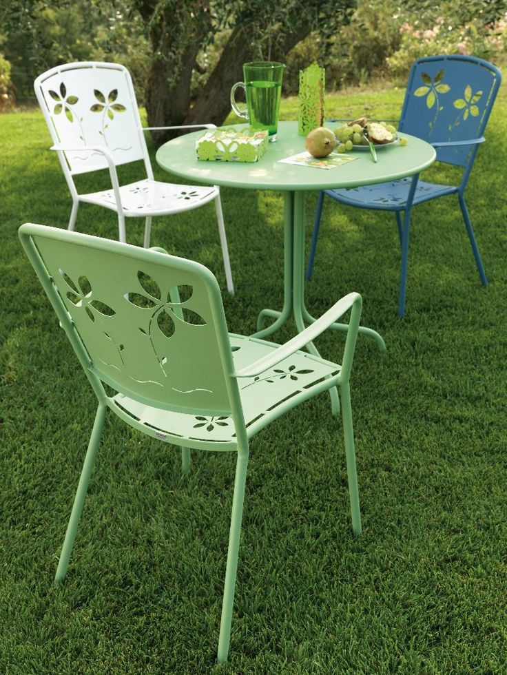Image Result For Retro Metal Garden Chairs