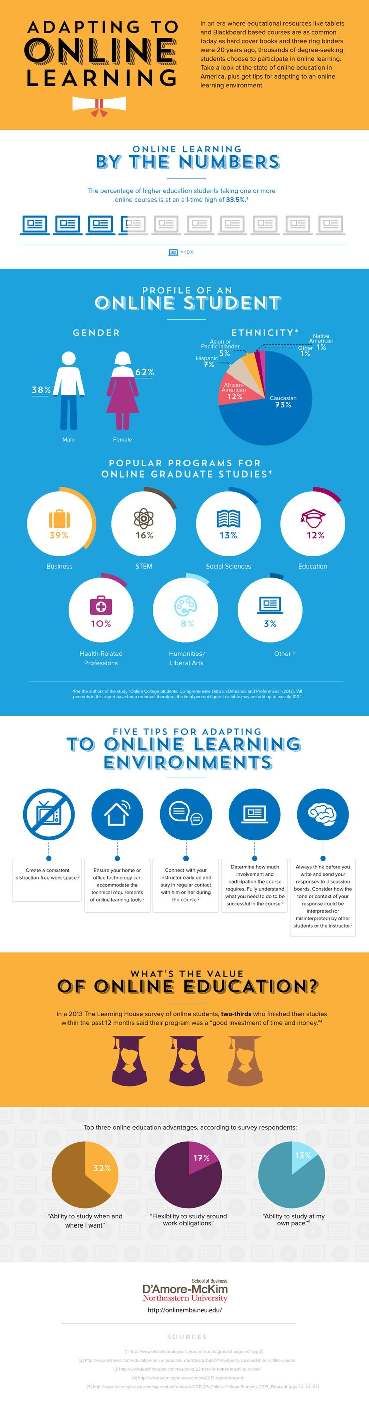 Adapting to Online Learning