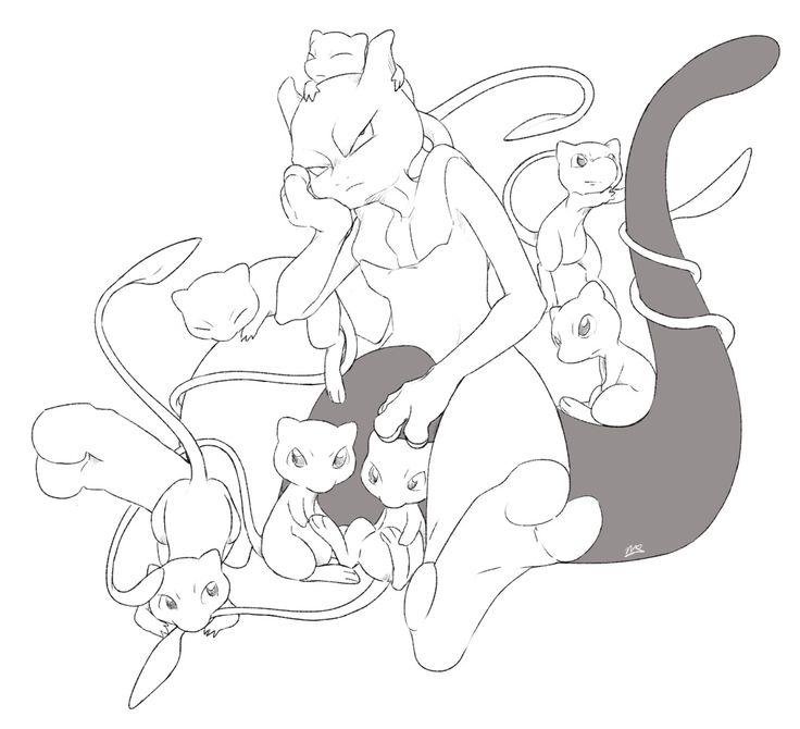 Casual Success Mew and mewtwo, Pokemon mewtwo, Pokemon