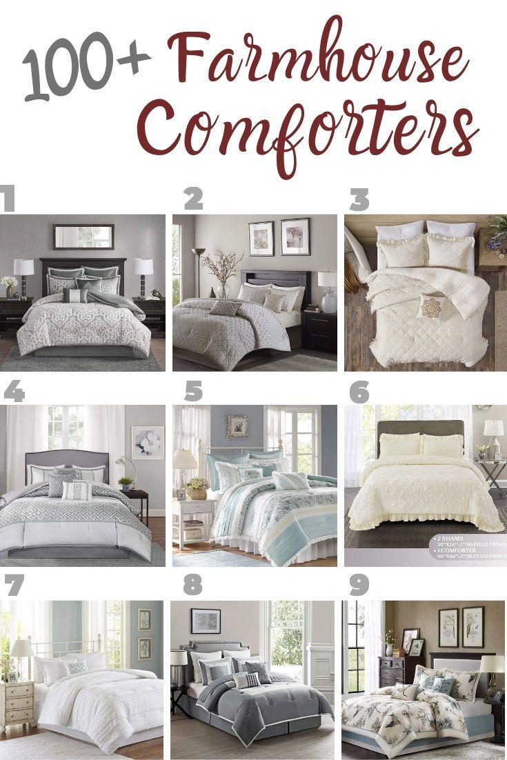 Farmhouse Comforters Rustic Comforters Farmhouse Goals In 2020 Farmhouse Bedding Sets Rustic Comforter Farmhouse Bedroom Decor