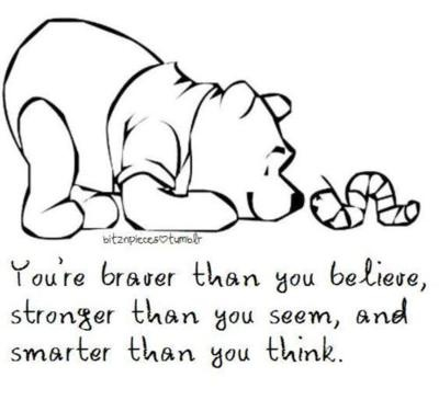 i love pooh bear:)