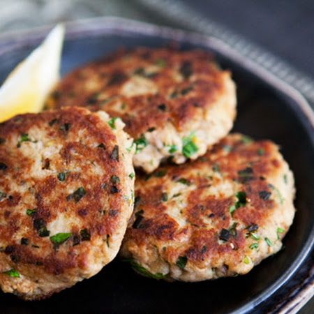 Tuna Patties... I just tried these and they were *fantastic*. I added a couple tablespoons of sour cream and some cilantro and substituted white onions in place of green onions. It was really good!