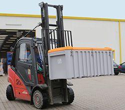 Transportbehälter und ihre Bauformen  #Drahtgitterbehälter #Großbehälter #Kippbehälter #Lagersystem #Transportbehälter