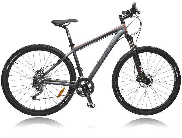 """Mountainbike med 29""""-däck och ram i aluminium - OCCANO U MTB X211 S13. Se alla cyklar: http://www.stadium.se/sport/cykel/cyklar"""