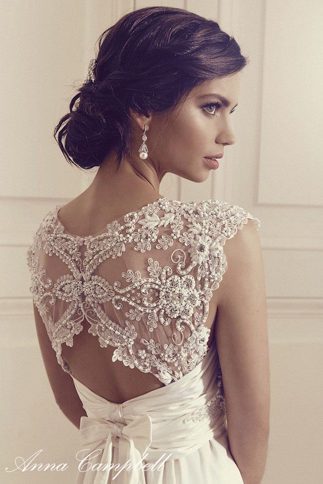 Anna Campbell Wedding Dress Collection | Bridal Musings Wedding Blog