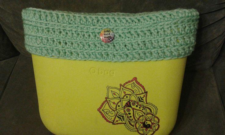 Bordo o-bag in lana uncinetto