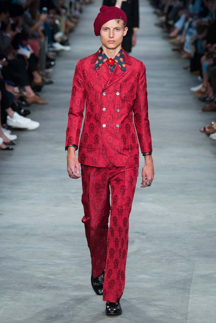 Gucci Spring 2016 Menswear - Collection - Gallery - Style.com