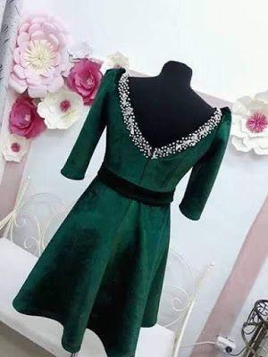 9233a4865 قنادر شتاء 2019 - عالم المراة   Diy fashion   Fashion, Dresses with ...