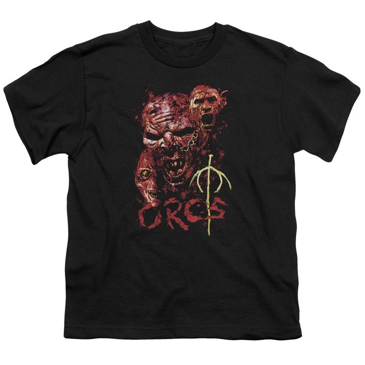 Lotr/Orcs Short Sleeve Youth 18/1 in