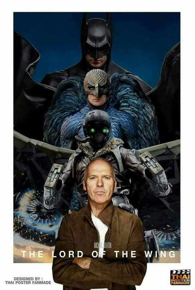 Michael Keaton, Lord of the Wings