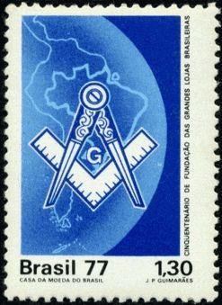 Filatelia Maçônica - Selos postais sobre a Maçonaria
