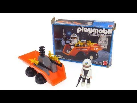 Playmobil Lunar Dumper / Space Transporter from 1982 / 1984! - YouTube