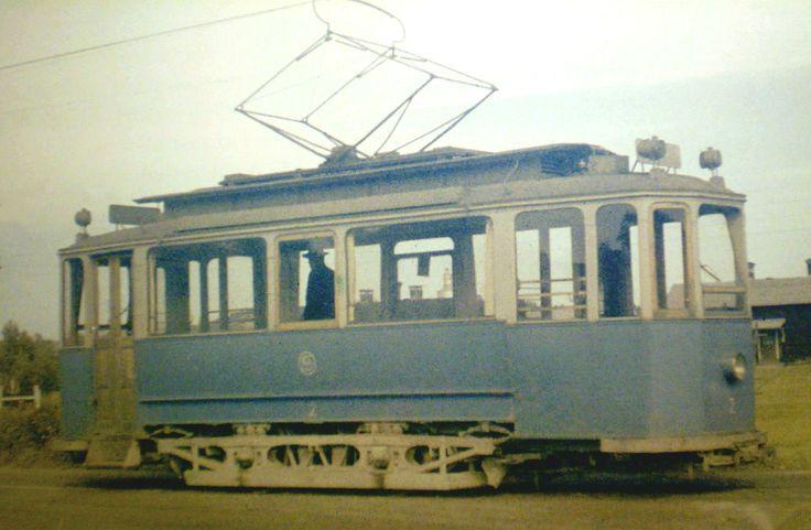 A rare color shot of Sundsvall car 2!