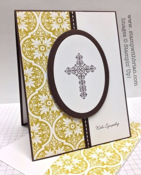 Crosses of Hope, Teeny Tiny Wishes, Sycamore Street Designer Series Paper, Stampin' Up!, stampwithbrian.com by suzette