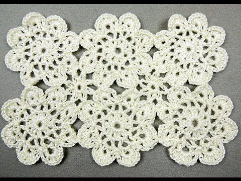 Crochet: Motivo Flor # 2