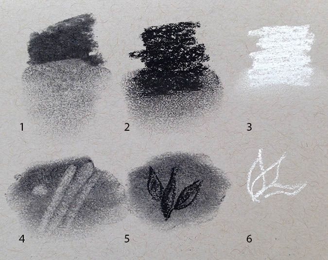 25 best ideas about charcoal drawing tutorial on for Black and white painting techniques