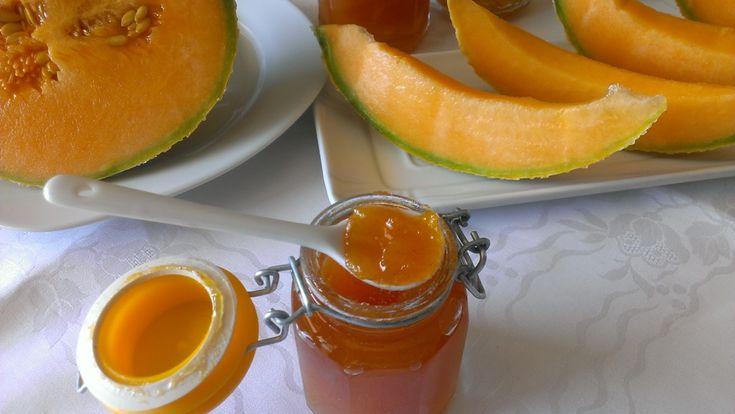 Marmellata di melone Cantalupo fatta in casa
