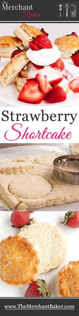 Strawberry Shortcake. A delicious biscuit based shortcake that's lightly sweetened and sturdy enough to stand up to juicy fruits and ice cream toppings.