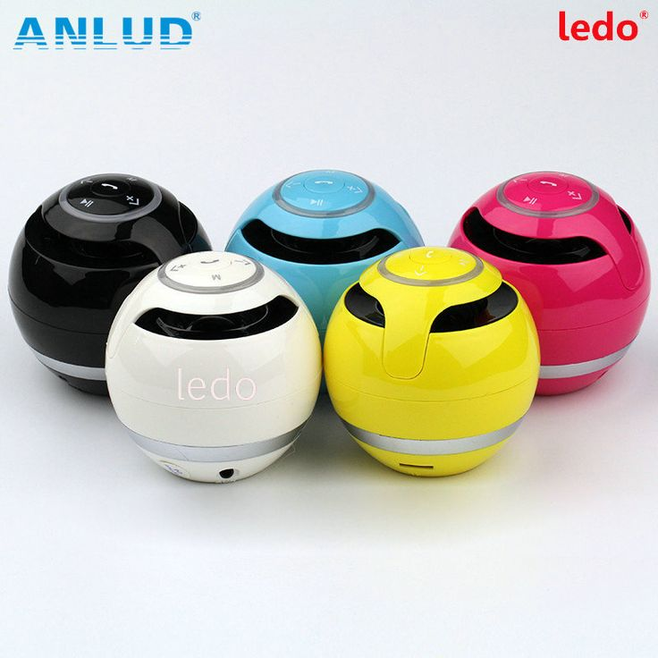 YST-175 Portable Mini Bluetooth Wireless Stereo Speaker Hands-free Call TF Card Reader LED For Smartphone Tablet Laptop Hot!
