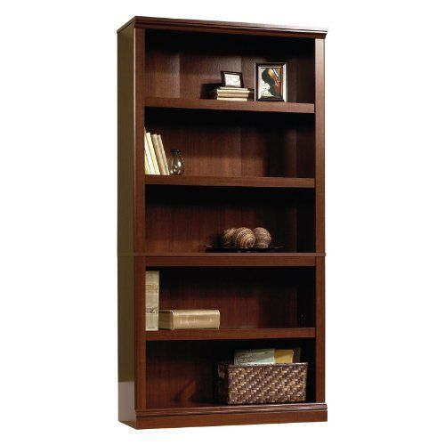 Sauder 5 Shelf Bookcase In Select Cherry By Sauder. $130.20. Five Shelves  (three