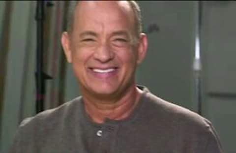 If this picture of Tom Hanks wont make you like this idk whats wrong with you.  #tomhanks #smile #picture #actor #photoofday #legend