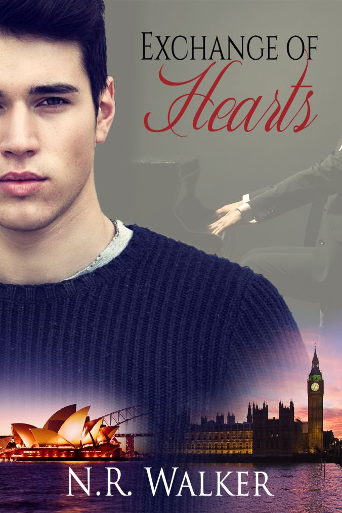 Love. Imperfect. Real.: Cover Reveal by Exchange of Hearts by N.R. Walker