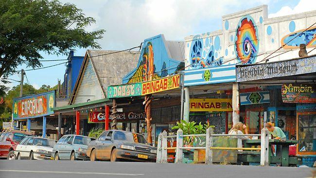 Nimbin, Australia- never seen a place like that before ha ha.
