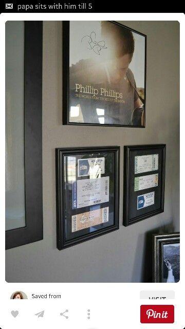 Las mejores 11 imágenes de Concert Gallery Wall Ideas de Sarah ...