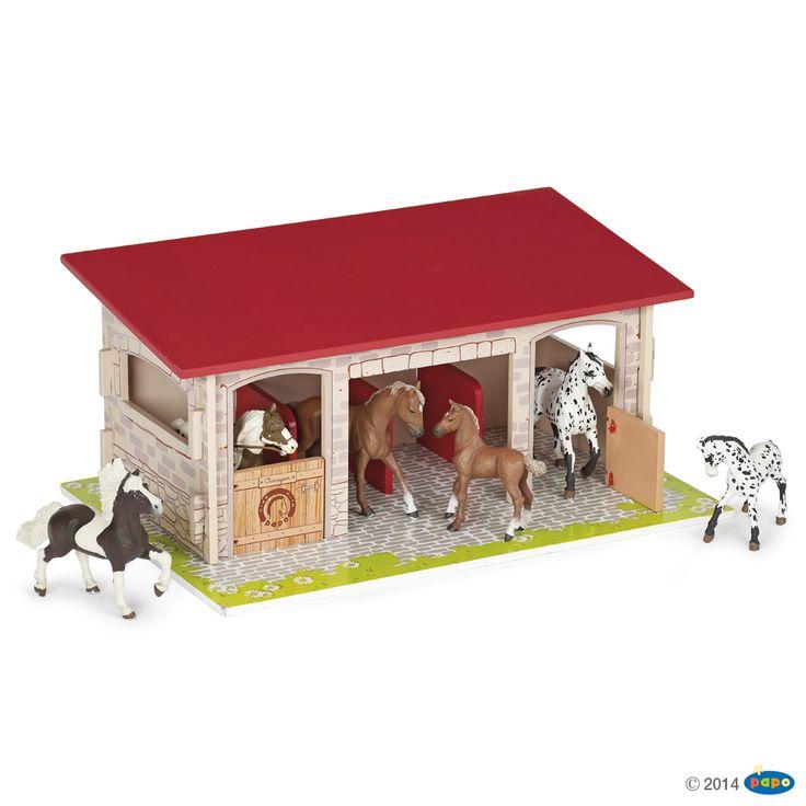 Figurine Box a chevaux - Figurines CHEVAUX, POULAINS ET PONEYS