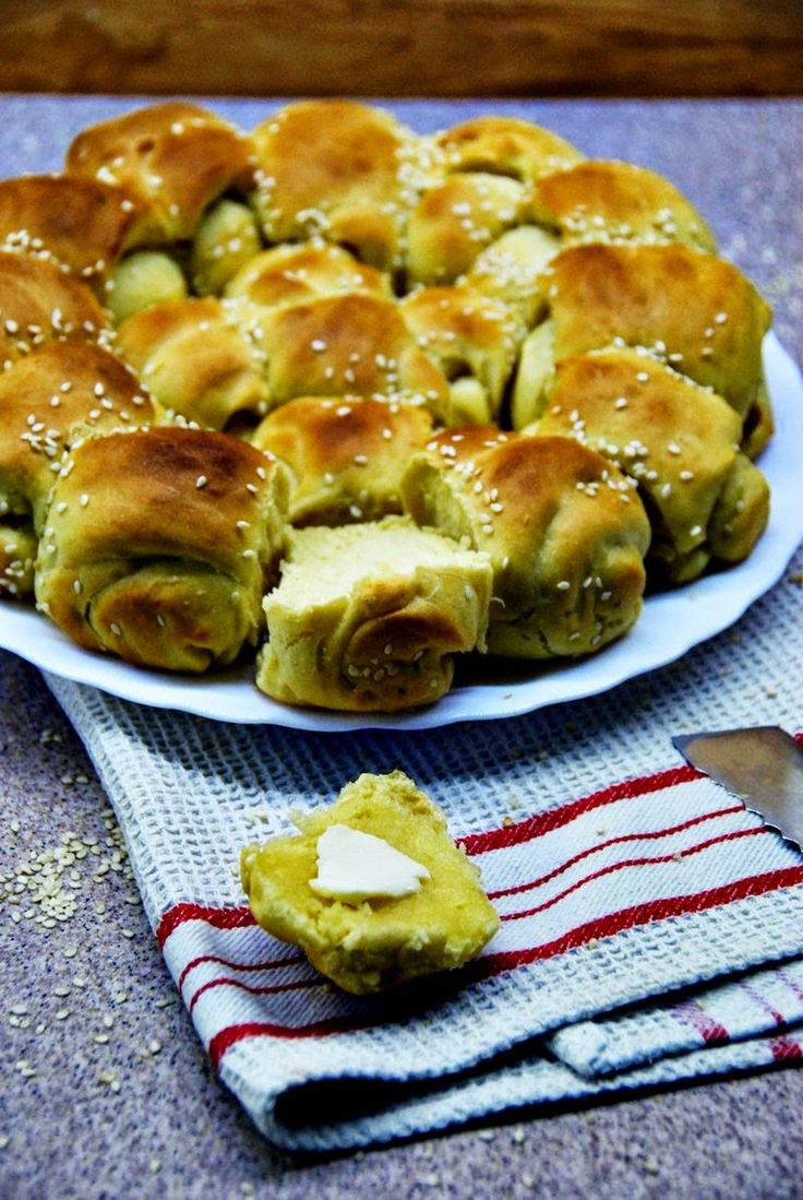 #20 chlebów: chlebek bułgarski - What a mess!