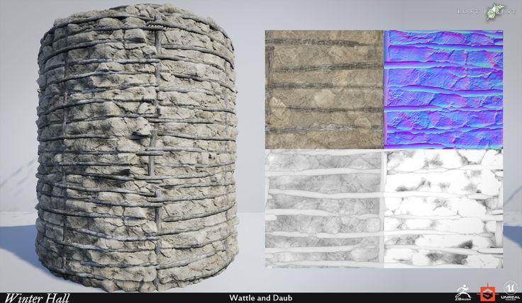 ArtStation - Winter Hall Materials , Kyle Horwood