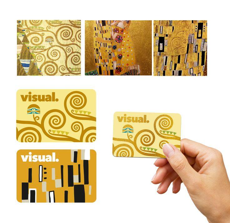 gustav klimt bank card